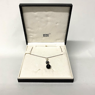 Montblanc Sterling Silver Pendant Necklace