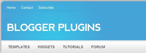 Blogger Widgets