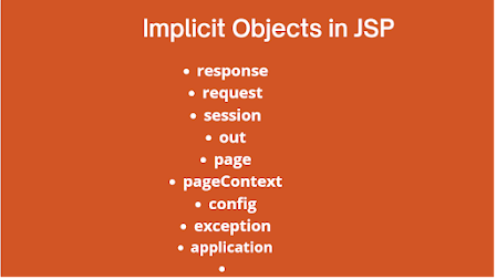 9 JSP Implicit Objects and When to Use Them