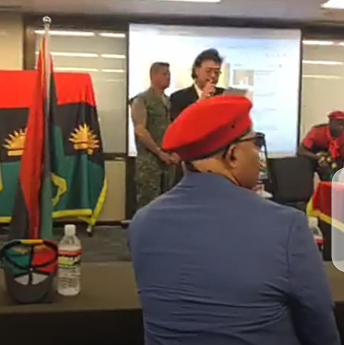 LIVE : Just After Nnamdi Kanu's Speech In Japan, White delegates addresses Biafrans