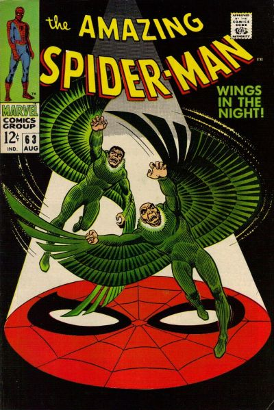 Amazing Spider-Man #63, the two Vultures