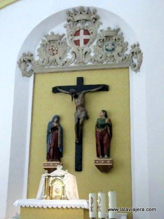 Calvario del siglo XVI en San Juan de los Panetes, Zaragoza