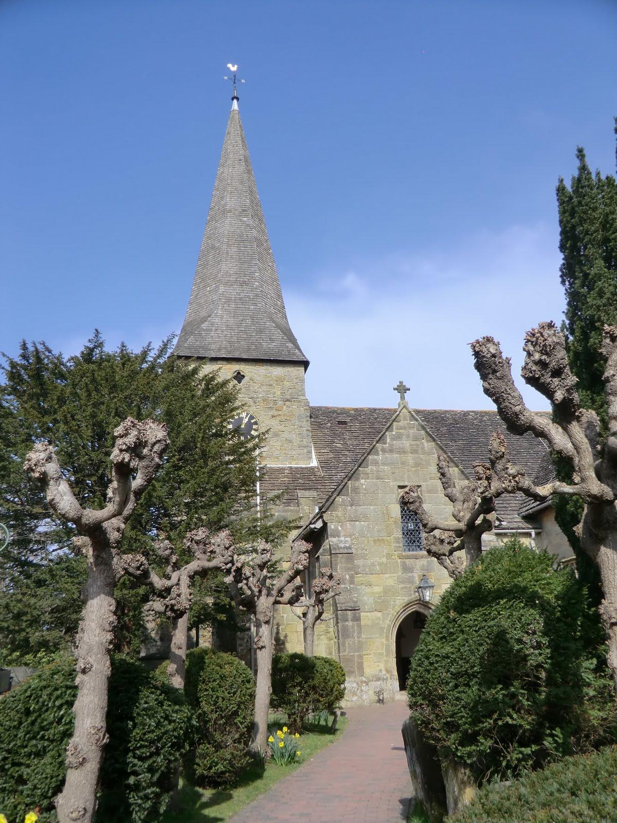 CIMG1869 All Saints church, Lindfield