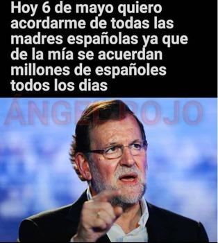madres, humor Rajoy
