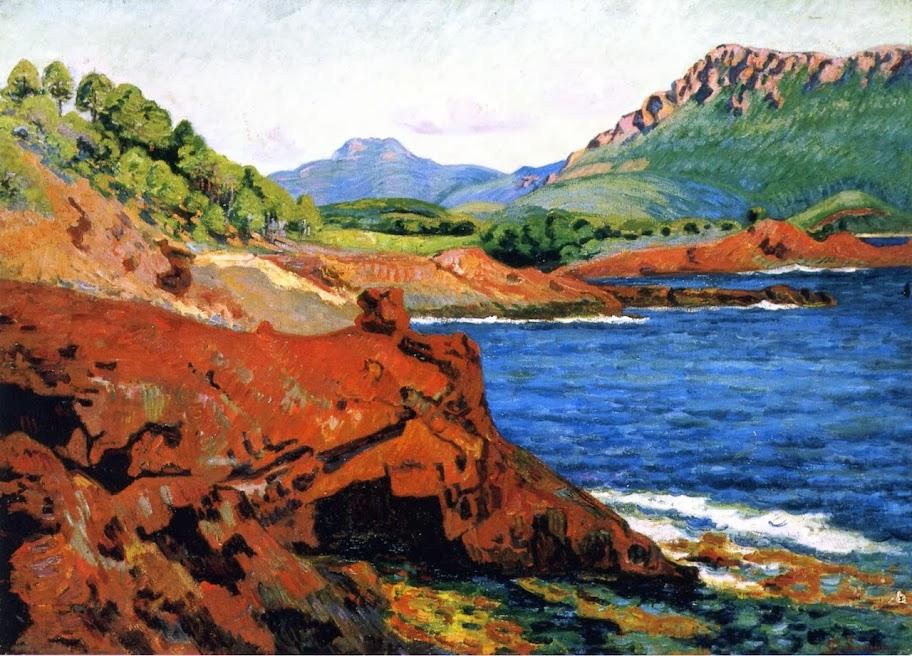 Armand Guillaumin - Agay, la pointe du Dramont Saint-Martin