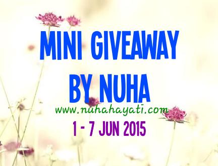 Mini Giveaway By Nuha