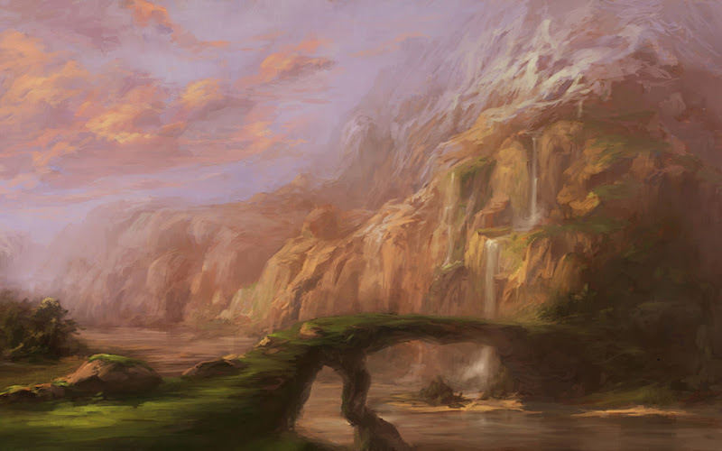 Weird Lands From Nightmare, Magical Landscapes 6