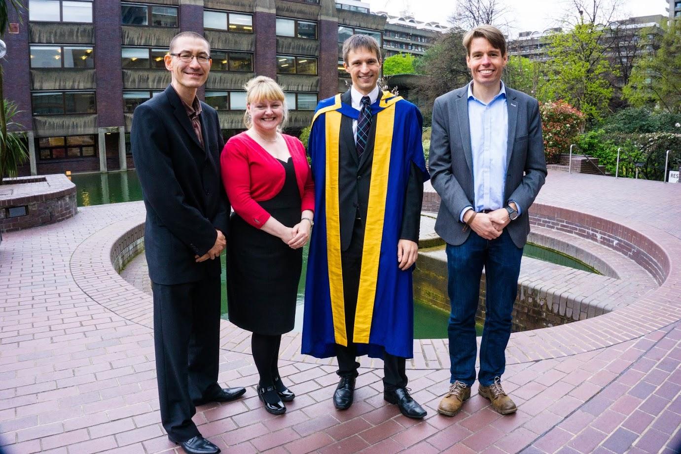 OU graduation, the supervisory team