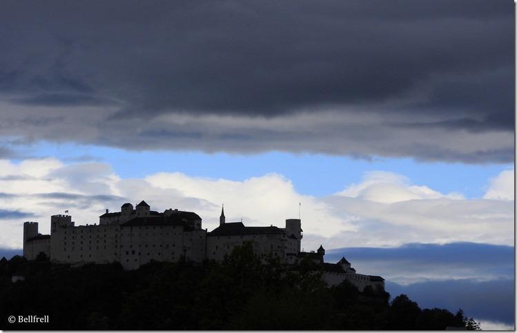 Blauer Himmel Festung 1