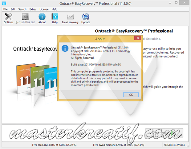 ontrack easy recovery serial key