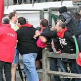 Pas content de l'arbitrage les supporters de St Sulpice sur Leze