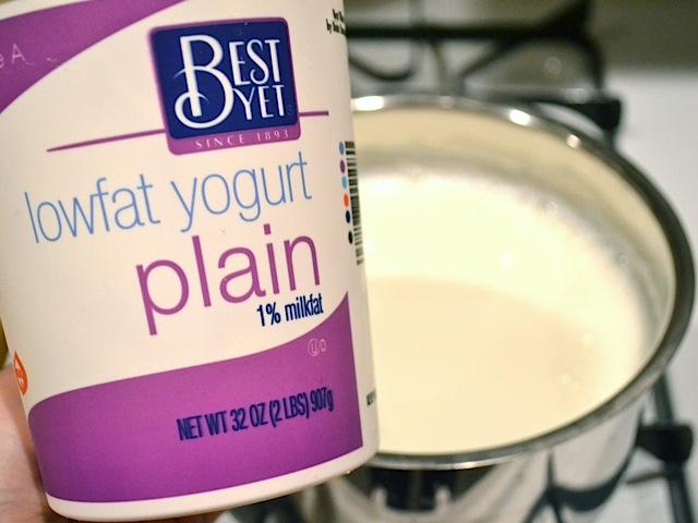 add yogurt