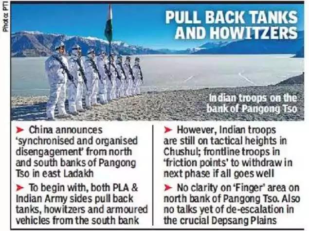 Ladakh Standoff Infographics
