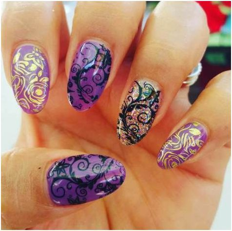 fall acrylic nails art designs 2017  styles art