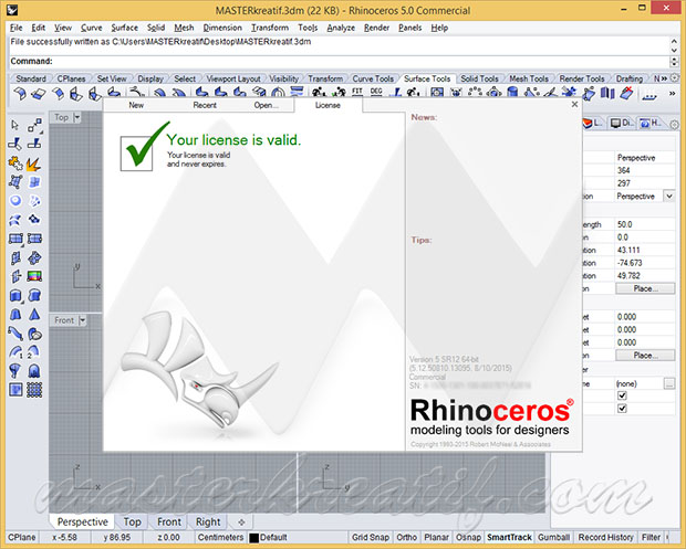 Rhinoceros 5 Full Crack Mazterize