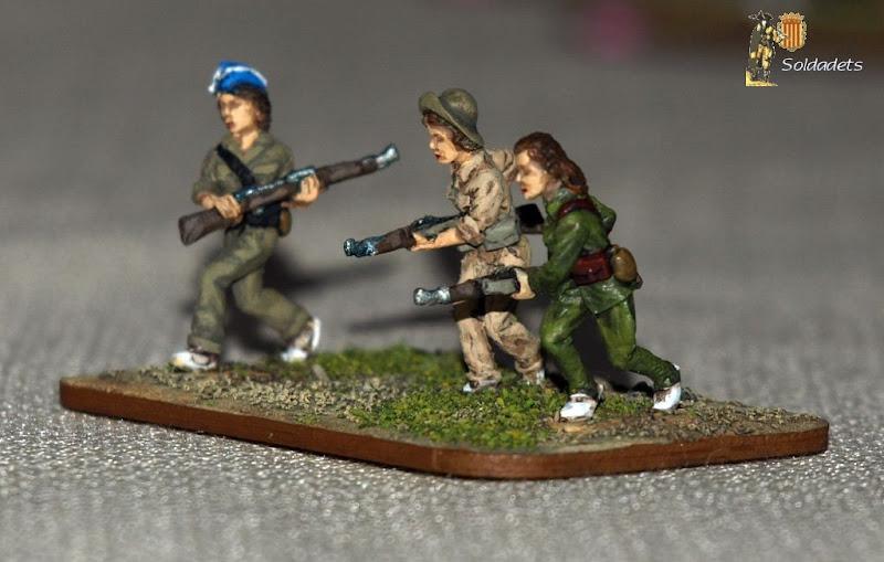 Militiawomen
