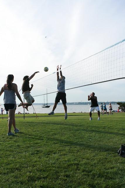 Grass Volleyball at Boulevard Park / Credit: Melanie LaVergne