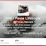 Become a Twitterer and follow @PooleLifeboats ...