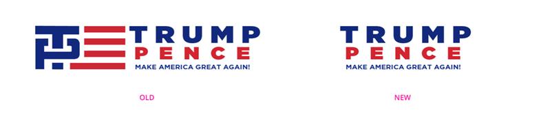 ENCUESTA: ¿Te gusta el nuevo logo de la campaña de Trump?