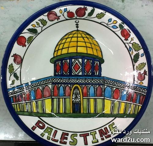 خزفيات فلسطينية من مدينة الخليل