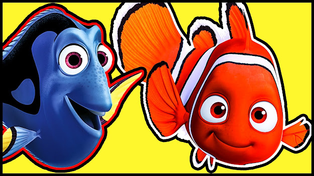 Disney Pixar Finding Dory Coloring Book  Coloring Sheets  Coloring Pages   For Kids And Children