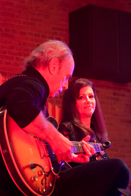 Cynthia Summers of Glen Rock. Nikki Armstrong of New Milford with Mark Brandenberg on guitar.Photos by TOM HART/  TomHartPhoto.com.