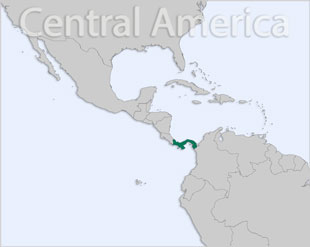 Panama location map