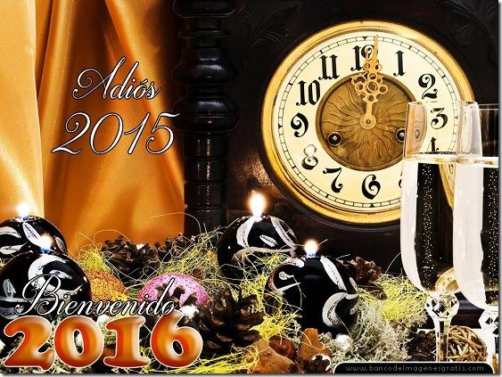 adios 2015 bienvenido 2016