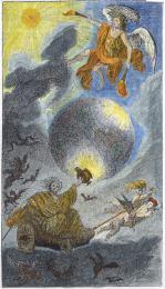 From Karl Von Eckhartshausen Aufschlusse Zur Magie Munich 1788, Alchemical And Hermetic Emblems 2
