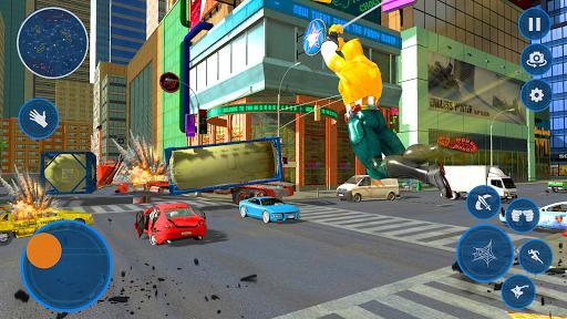 US Captain Hero: Miami rope hero rescue city games cheat hacks