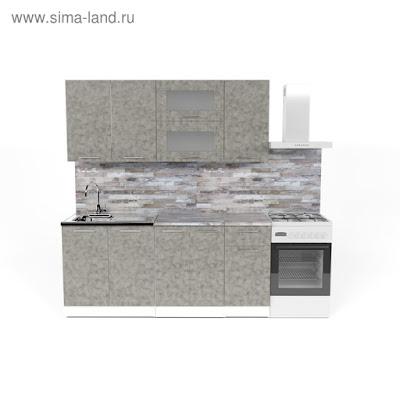 Кухонный гарнитур Валерия макси 3 1800 мм