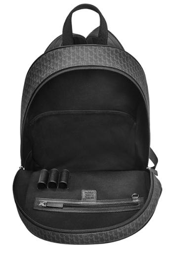 ... with jacquard 100% black cotton lining and stainless steel fittings.  The material is water resistant and will keep your tech gear and goodies  dry. 81a5568c572f7