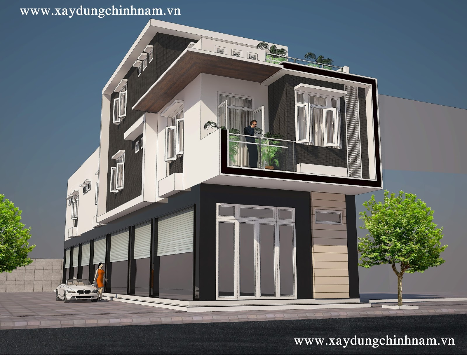 Thiết kế nhà chị Trúc ở Đồng Nai