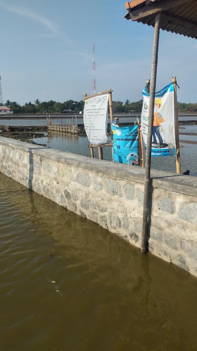 Diharapkan BBWS Evaluasi Proyek Turap di Desa Tanjung Pakis .