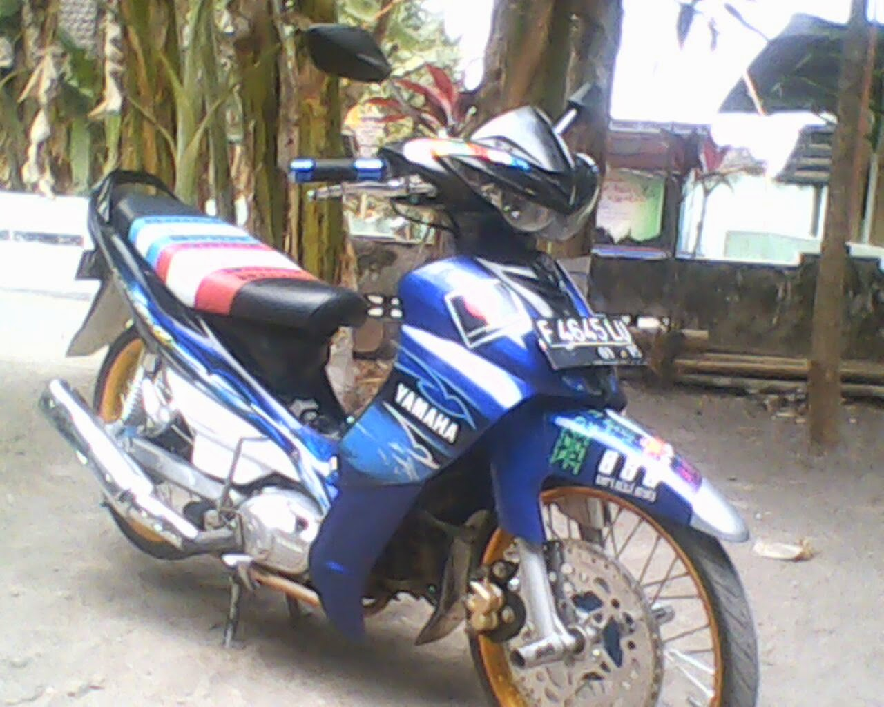 Modifikasi Jupiter Mx 2013 Minimalis