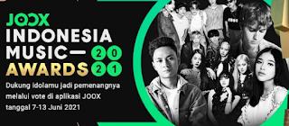 Cara Vote Indonesia Music Awards 2021 di JOOX Gampang Banget