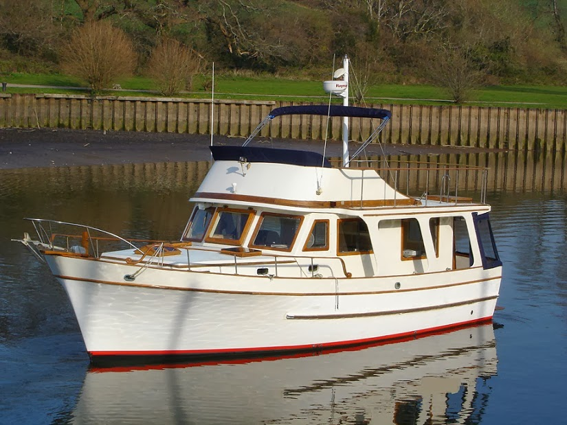 Marine Trader 40 Trawler Yacht For Sale