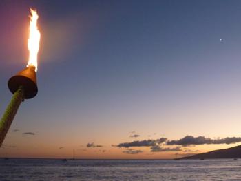Torch and Venus