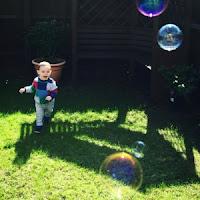 baby bubbles garden