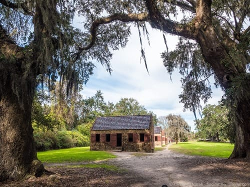 Slave Alley Boone Hall plantation Charleston
