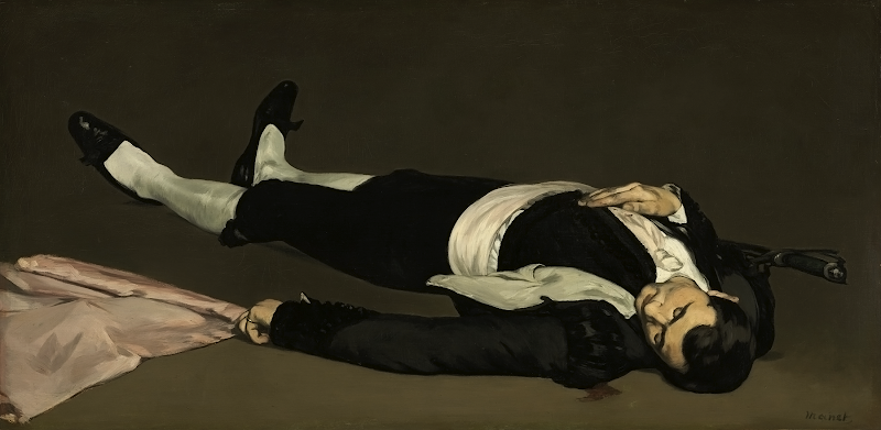 The Dead Toreador-Edouard Manet