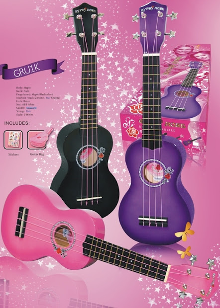 team international mahalo gipsy rose range at Lardys Ukulele database