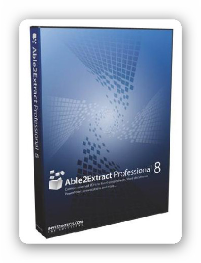 Able2Extract Professional 8.0.33.0 - Conversor de PDFs a Word, Excel, Powerpoint...