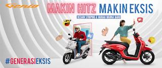 Brosur Motor Honda Genio