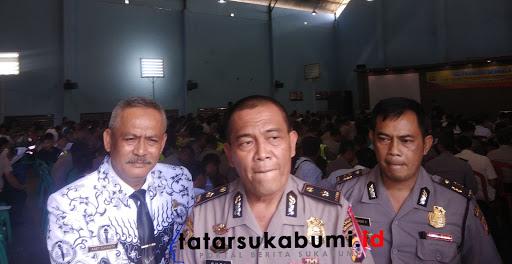 328 Anggota Polresta Sukabumi Jalani Psikotest Kepemilikan Senjata Api Dinas