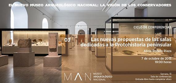 Ciclo de conferencias en el Museo Arqueológico Nacional