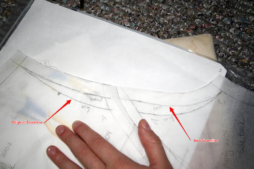 Marfy 2204 broad back adjustment
