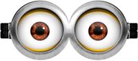 Molde Minions: Imprimible Lentes de Dos ojos