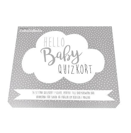 JaBaDaBaDo Quizkort - Hello baby