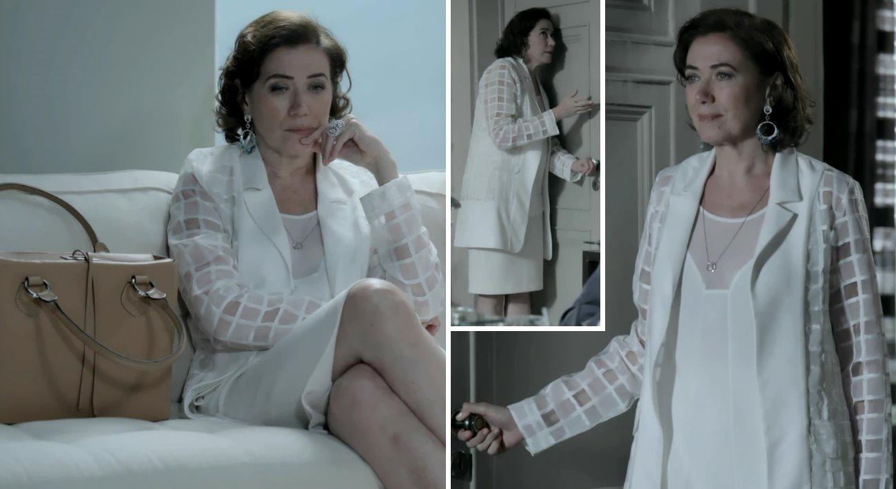 moda da novela Império, look da Maria Marta dia 21 de novembro